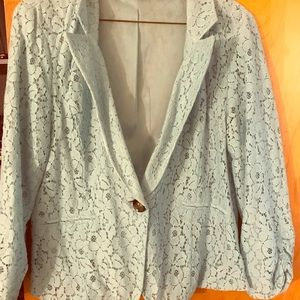 Charlotte Russe lace blazer
